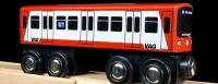 Holz-U-Bahn für Kinder