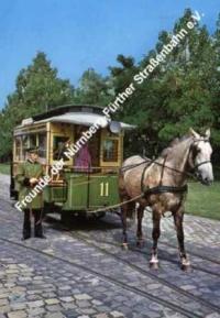 Poster 'Pferdebahnwagen 11'